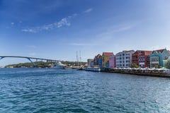 Port en le Curaçao photographie stock libre de droits