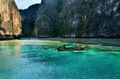 Port en Phi Phi Photo libre de droits
