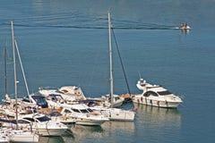 Port en Roumanie Images libres de droits