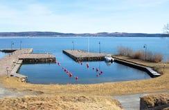 Port en Suède Photographie stock libre de droits