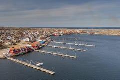 Port en Suède Image stock