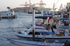 Port of Ensenada Stock Photo