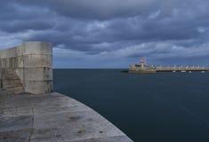 Port entrance Stock Image