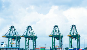 Free Port Equipments Royalty Free Stock Photography - 5802817