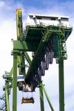 Port Equipments Stock Photo
