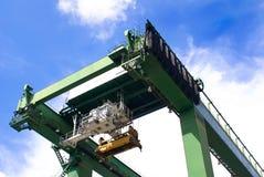 Port Equipments Royalty Free Stock Photos
