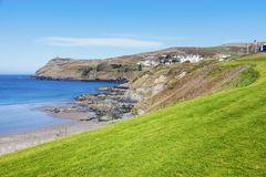 Port Erin on the Isle of Man. Douglas, Isle of Man stock photos