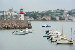 Port Erquy Stock Photography
