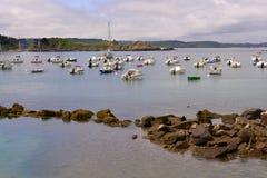 Port Erquy w Francja Fotografia Royalty Free
