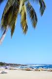 Port Escondido, Mexico Arkivfoto