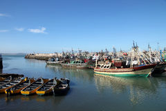 Port of Essaouira Royalty Free Stock Photos