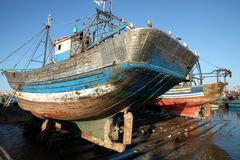 Port of Essaouira Stock Photography