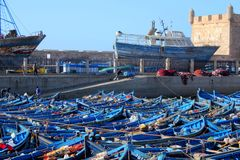 Port of Essaouira Royalty Free Stock Images