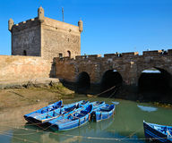 Port in Essaouira Royalty Free Stock Image