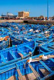 In the port of Essaouira Stock Images