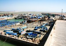 Port Essaouira,  Morocco Stock Photography