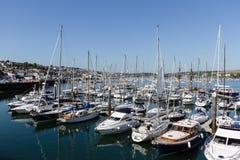 Port et marina de Falmouth image stock