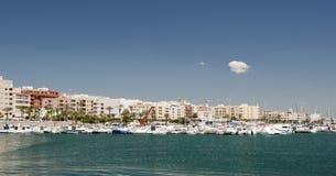 Port et marina de Garrucha image stock