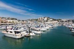 Port et Marina Devon England R-U de Torquay Images libres de droits