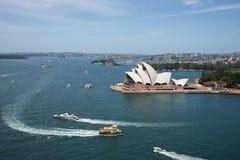 Port et Sydney Opera House Photos libres de droits