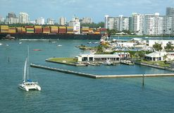 Port Everglades Stock Photography