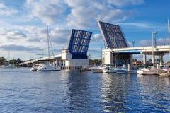 Port Everglades, Fort Lauderdale Bridge Stock Images