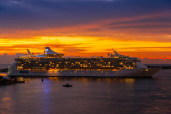 Port Everglades Royalty Free Stock Photography
