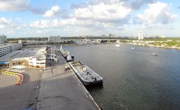 Port Everglades Royalty Free Stock Images