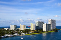 Port Everglades at Fort Lauderdale Royalty Free Stock Images