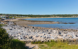 Port Eynon The Gower Wales uk popular tourist destination Stock Image