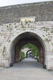 Portför Zhonghua av Nanjing Ming City Wall Royaltyfri Bild