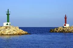 port för bonacala ingång till Royaltyfri Foto