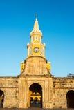 Port för Cartagena klockatorn Arkivbilder