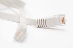 Port för Ethernetkabel  arkivfoto