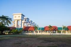 Port för Khlong LatPho flod, Samutprakarn Thailand Arkivbild