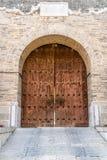 Port för stor vägg för Yanmen passerande, Shanxi landskap, Kina royaltyfria bilder