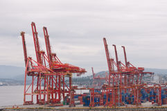 Port facilities Royalty Free Stock Photography