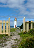 Port Fairie Lighthouse. Victoria, Australia Royalty Free Stock Photos