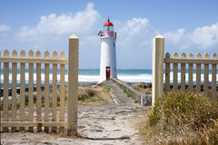 Port Fairy Lighthouse, Griffiths Island, Great Ocean Road Royalty Free Stock Image