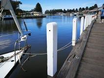 Port Fairy Victoia Australia. Along the boardwalk in Port Fairy Stock Photos