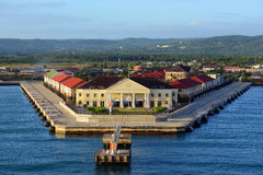 Port Falmouth, Jamajka Obrazy Stock