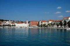 Port fendu, Croatie Photographie stock libre de droits