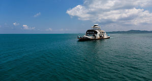 Port ferry boat in Koh Chang Island Stock Images