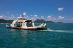 Port ferry boat in Koh Chang Island Royalty Free Stock Photography