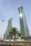 Port financier du Bahrain Images libres de droits
