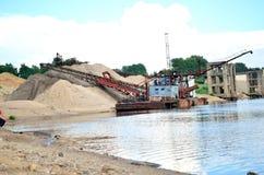 Port fluvial Photo libre de droits