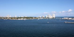 Port of Fort Lauderdale Royalty Free Stock Photography
