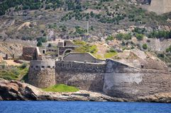 Port Fortifications Royalty Free Stock Photography