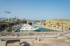 The Port Forum Barcelona Royalty Free Stock Image