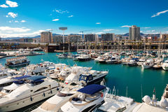 Port Forum. Barcelona Royalty Free Stock Image